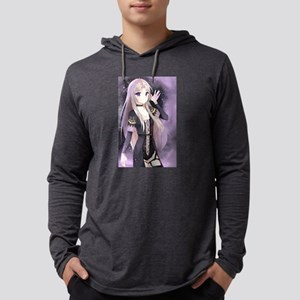 Beautiful anime girl smal Long Sleeve T-Shirt